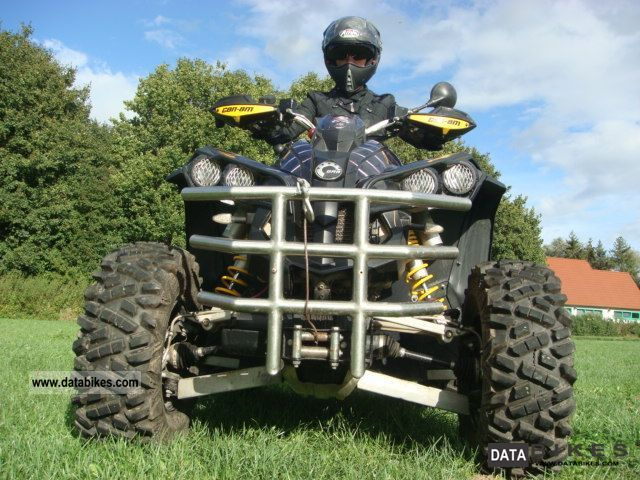2008 Can Am  X 800 R Motorcycle Quad photo