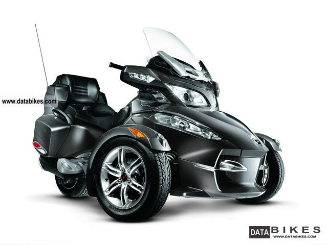 2012 BRP  Can Am Spyder RT-S SE5 2011 Motorcycle Other photo