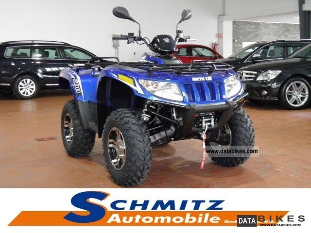 2012 Arctic Cat  700i GT 4x4 power steering / winch / Alloy Wheels Motorcycle Quad photo