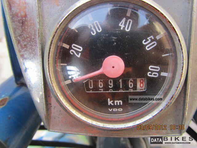 1965 Kreidler moped