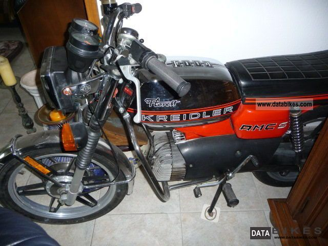 Kreidler  RMC S original and unrestored 5 speed 1979 Vintage, Classic and Old Bikes photo