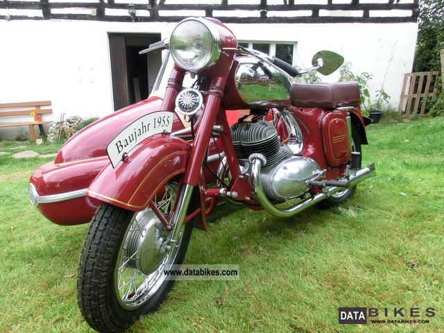 Jawa  354 1955 Vintage, Classic and Old Bikes photo