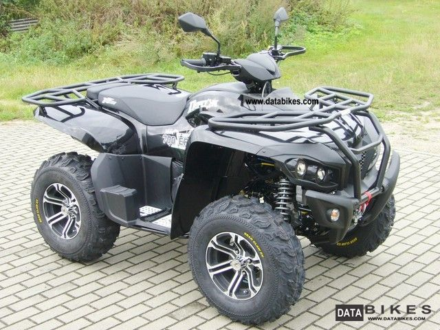 2012 Triton  Defcon 4x4 700 LOF the new powerhouse! Motorcycle Quad photo