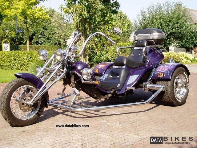 1999 Boom  Lowrider Trike - 1999 D-FZB Motorcycle Trike photo
