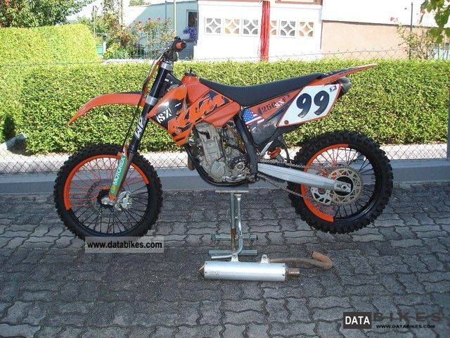 2006 KTM  250 sxf, f sx, sx-f, sx Motorcycle Rally/Cross photo