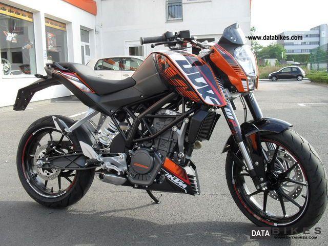 2012 KTM  200 Duke \ Motorcycle Naked Bike photo
