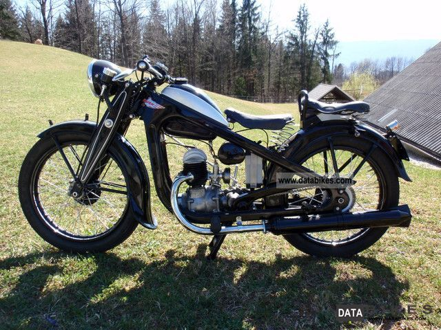 Puch  200-1939 1939 Vintage, Classic and Old Bikes photo