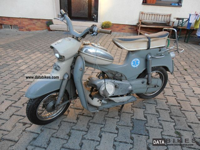 1963 Puch  Steyr-Daimler-DSR Motorcycle Lightweight Motorcycle/Motorbike photo