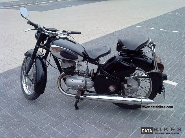 DKW  RT 175/200 1953 Vintage, Classic and Old Bikes photo
