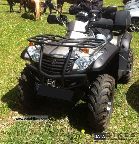 2011 Explorer  ATV 625 with Grison LOF Motorcycle Quad photo