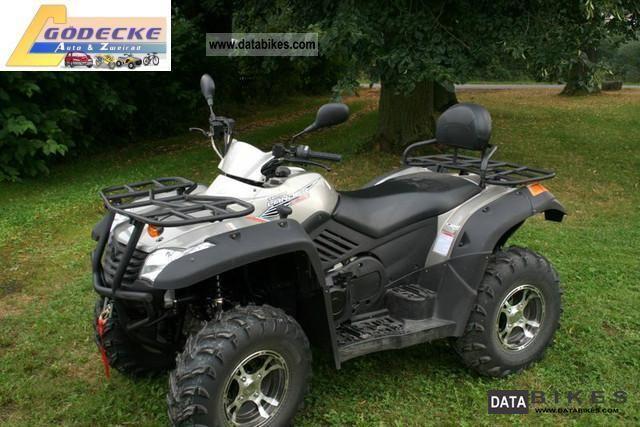 2012 Explorer  Terra Lander 500 4x4 IRS Motorcycle Quad photo
