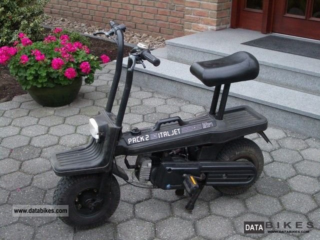 1985 Italjet  Dax Monkey Pack 2 Motorcycle Motor-assisted Bicycle/Small Moped photo
