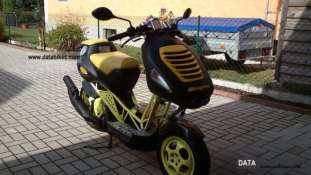 2003 Italjet  Dragster 180 Motorcycle Scooter photo