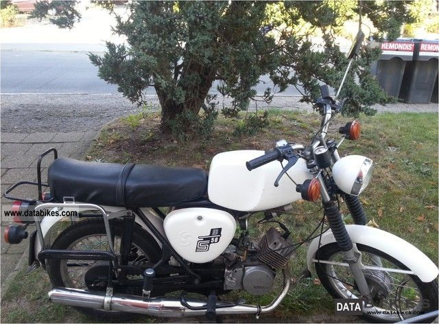 Simson  S 50 B 1 1978 Vintage, Classic and Old Bikes photo