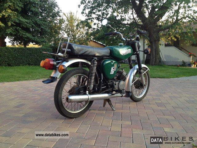 Simson  S51 4 speed 1975 Vintage, Classic and Old Bikes photo
