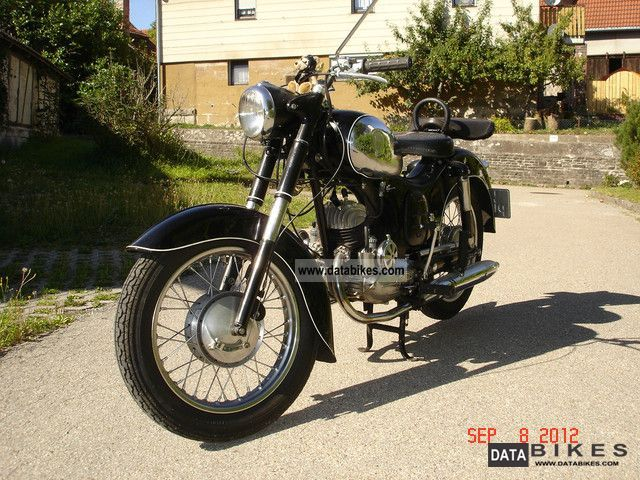 Puch  175 SVS 1953 Vintage, Classic and Old Bikes photo