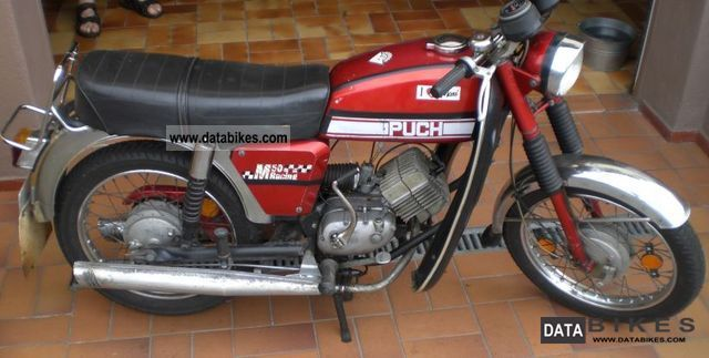 Puch  Racing M50 1973 Vintage, Classic and Old Bikes photo