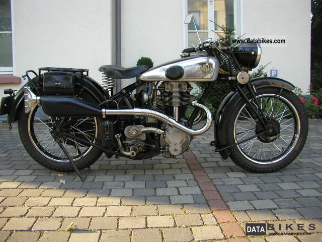 NSU  351 OSL 1939 Vintage, Classic and Old Bikes photo