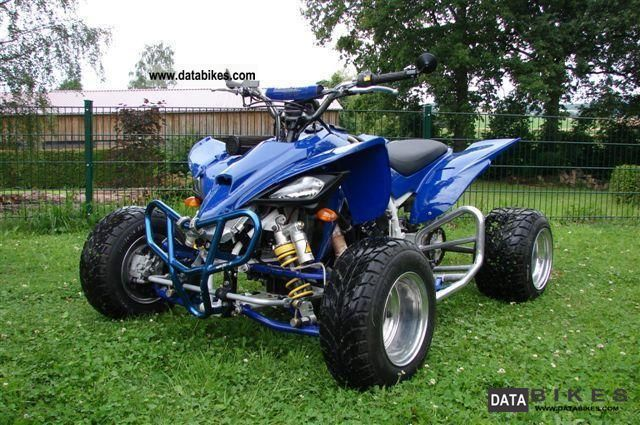2005 Yamaha YFM 700