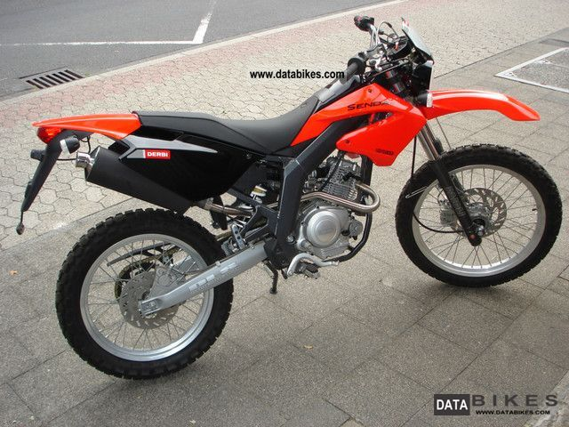 2008 Derbi  Senda 125 RY Motorcycle Lightweight Motorcycle/Motorbike photo