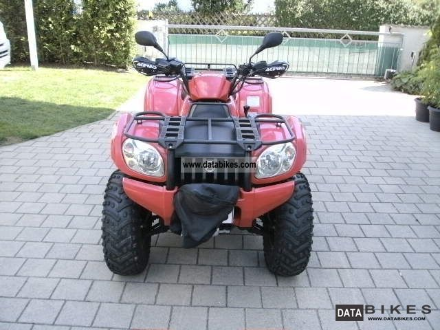 2007 CFMOTO  CF500A Motorcycle Quad photo