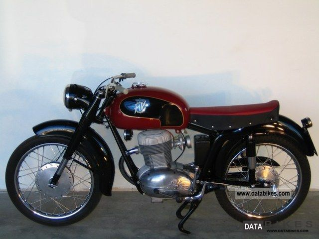 1959 MV Agusta  CSTL 175 Motorcycle Chopper/Cruiser photo