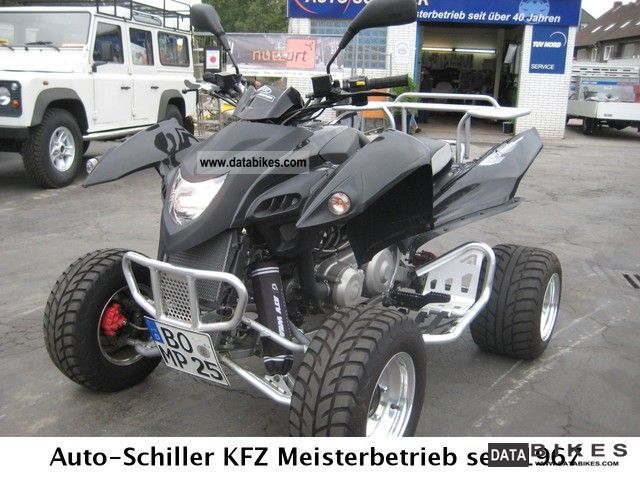 2008 Adly  320 S Super conversion - only 1.900km Motorcycle Quad photo