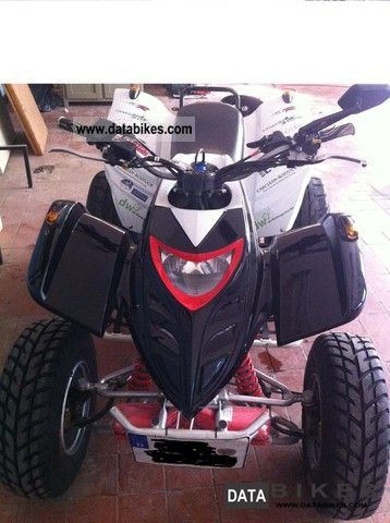 2007 Adly  Her CHEE Interceptor Motorcycle Quad photo