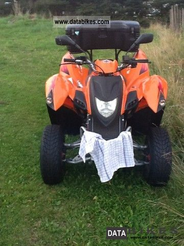 2008 Adly  Atv-280A Hercules Motorcycle Quad photo