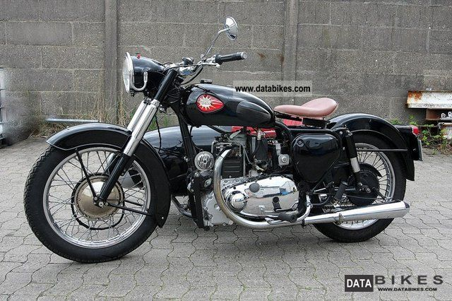 BSA  CA 7 1957 Vintage, Classic and Old Bikes photo