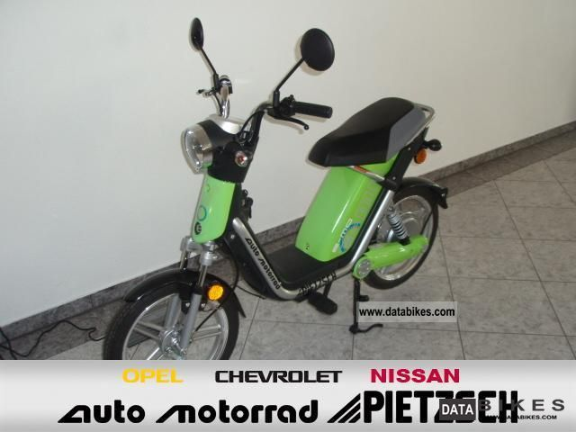 E-Ton  e-mo electric ACTION 2012 Electric Motorcycles photo