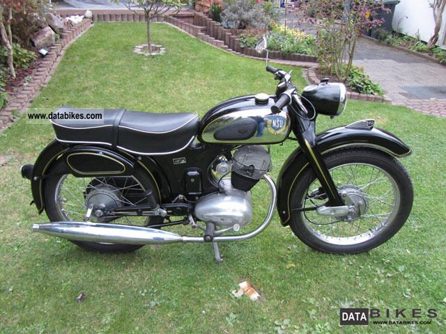 NSU  Super Fox 125 OSB 1957 Vintage, Classic and Old Bikes photo