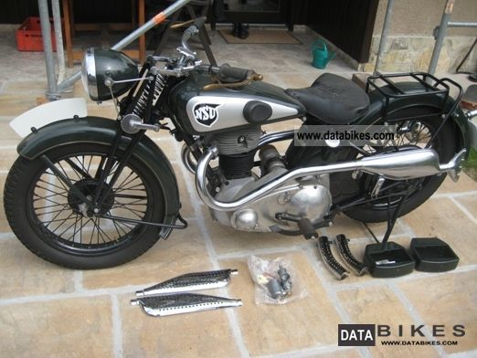 NSU  OSL 601 built about 1938 1938 Vintage, Classic and Old Bikes photo