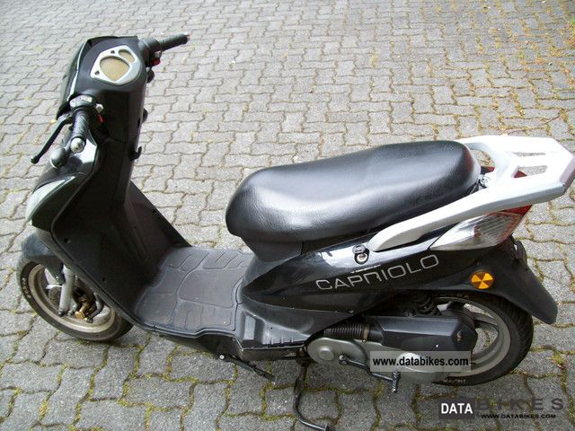 2008 Zhongyu  Capriolo Motorcycle Scooter photo