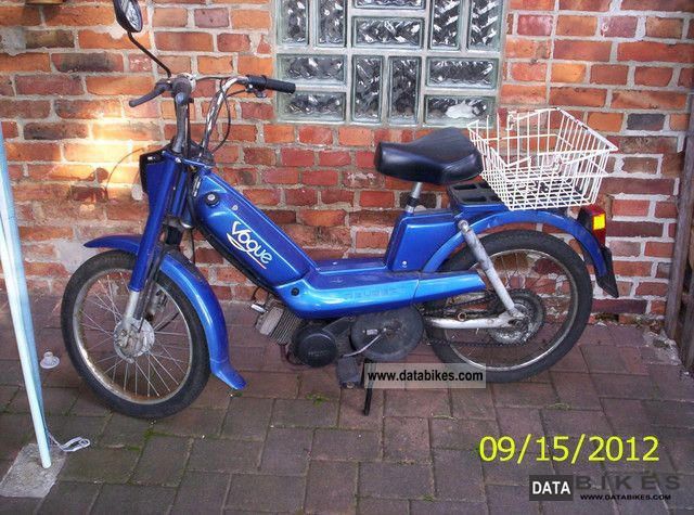 2001 Peugeot  Vogue S Motorcycle Motor-assisted Bicycle/Small Moped photo