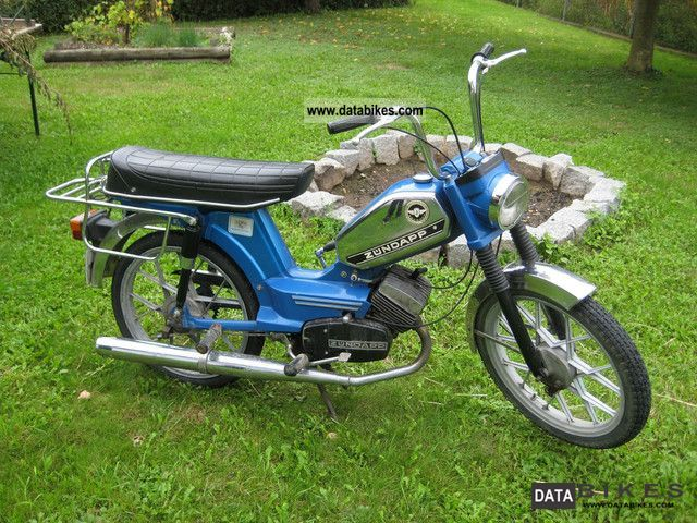 Zundapp  Zündapp ZD 40 1978 Vintage, Classic and Old Bikes photo