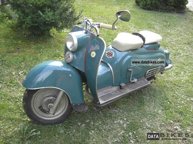 1955 Zundapp  Zündapp Bella 200 Motorcycle Motorcycle photo