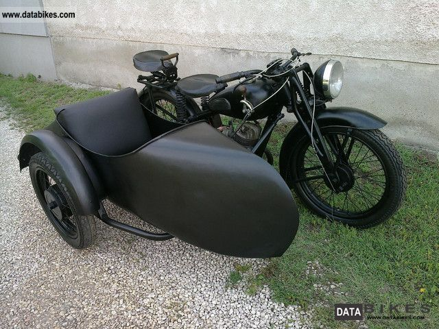 1932 DKW  KM 200 team Motorcycle Combination/Sidecar photo
