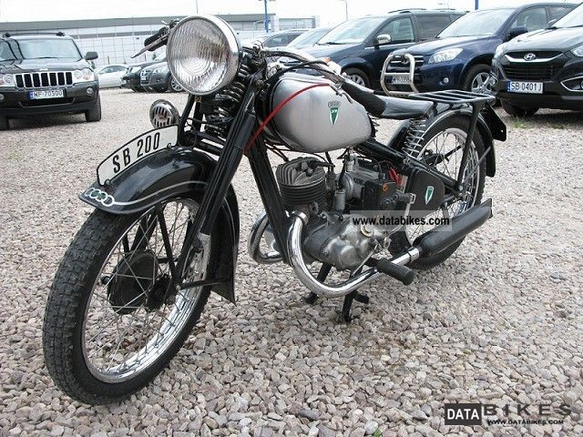 DKW  Ks 200 1934r. STAN KOLEKCJONERSKI! 1934 Vintage, Classic and Old Bikes photo