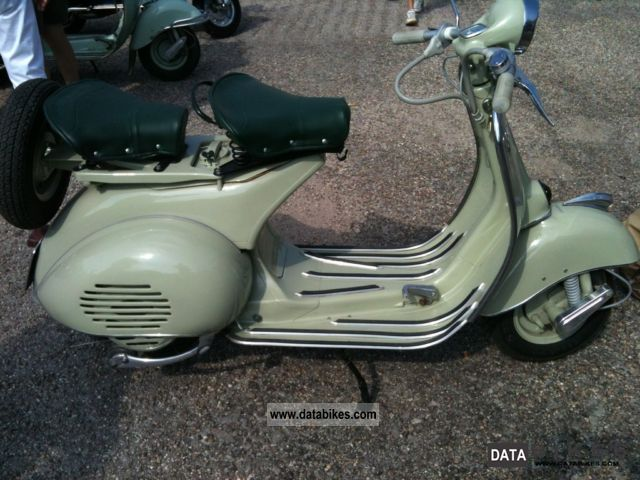 Vespa  Superbe Acma etat collection 1958 Vintage, Classic and Old Bikes photo