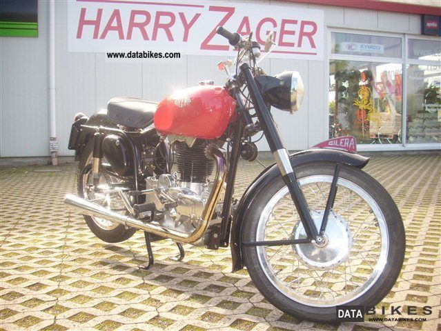 Gilera  Saturno, 500 sports top condition 1954 Vintage, Classic and Old Bikes photo