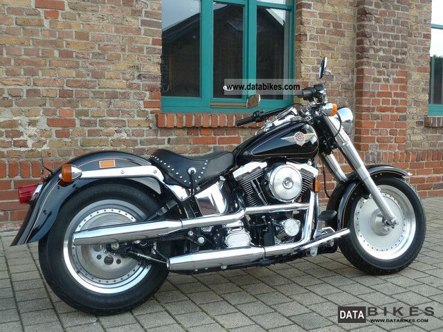 1997 Harley Davidson  FLSTF Motorcycle Chopper/Cruiser photo