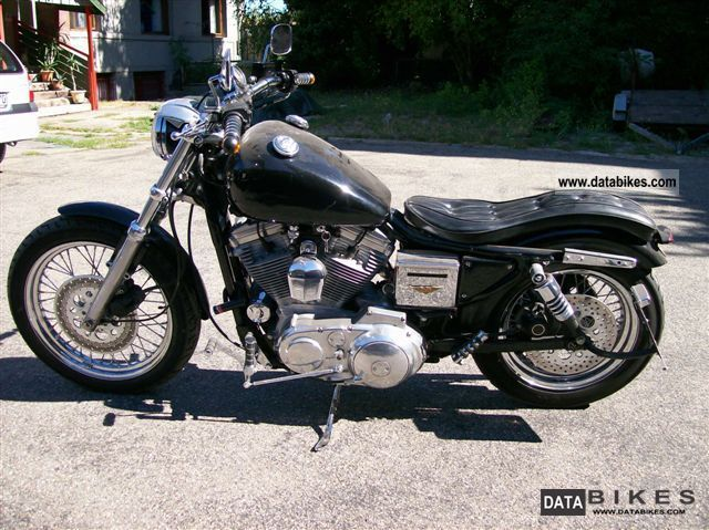1992 Harley Davidson  XL / 2 Motorcycle Chopper/Cruiser photo