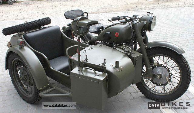 Ural  M 72, MW 750, BMW R71, Dniepr, K750 1956 Vintage, Classic and Old Bikes photo