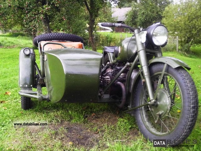 Ural  M 72 1947 Vintage, Classic and Old Bikes photo