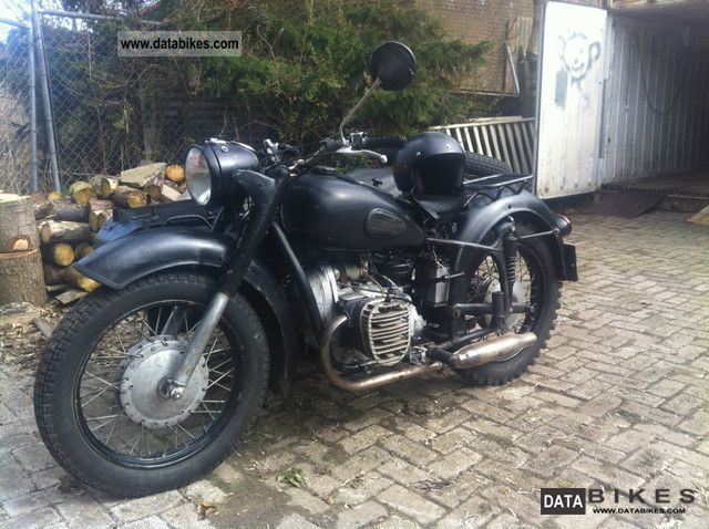 Ural  mw / 750 mb 1958 Vintage, Classic and Old Bikes photo