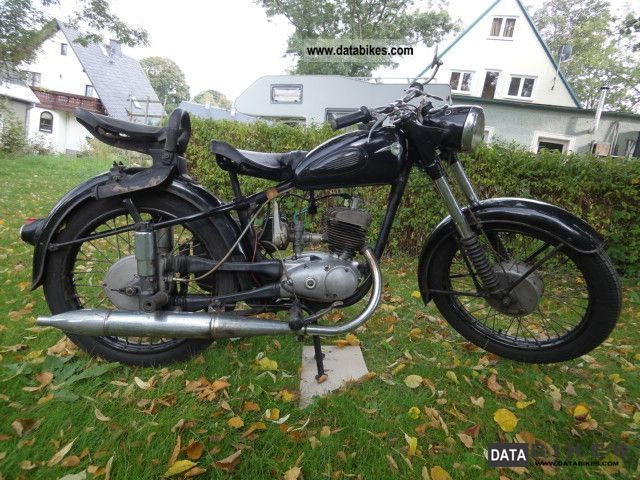 Mz  125/3 Runs, all original documents, 1.Lack 1959 Vintage, Classic and Old Bikes photo