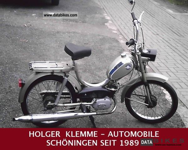 Hercules  VINTAGE MOPED MP2 DRIVES 1974 Vintage, Classic and Old Bikes photo