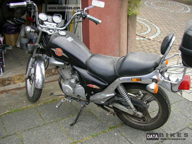 1998 Daelim  chopper Motorcycle Chopper/Cruiser photo