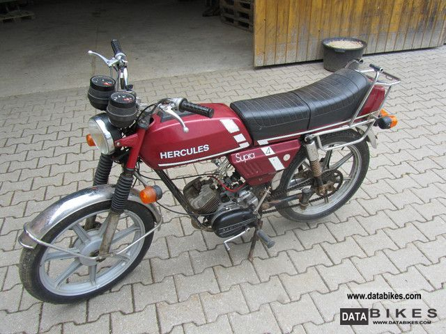 1979 Hercules  Supra 4 Motorcycle Motor-assisted Bicycle/Small Moped photo